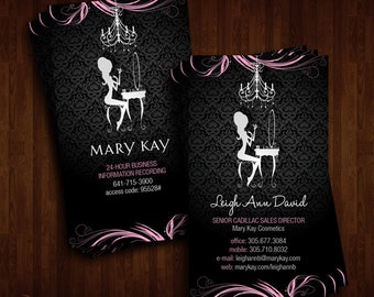 Mary Kay Cosmetics, Business Cards