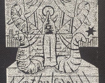 The Chariot canvas patch
