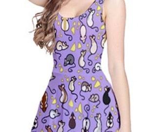 Rat Tails Sleeveless Dress