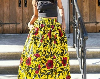 Maxi skirt in 2 colors