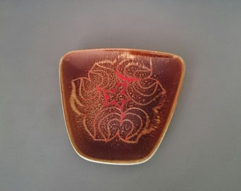 Poole Pottery Aegean 81 Trapezoid Dish Ros Sommerfelt