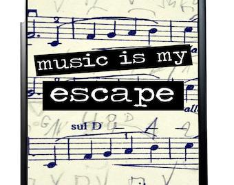 Music Is My Escape For iPad 2/3/4 iPad Mini 1/2 and iPad Air