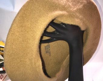Beret Hat Vintage Wool