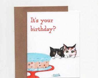 No Kitten Birthday Cards