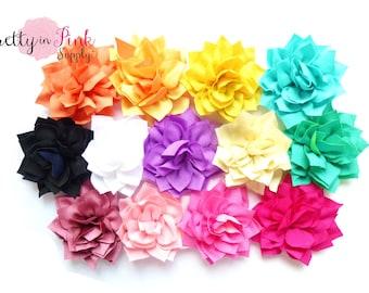 Kanzashi Flower- You Choose Quantity- DIY Headband Supplies- Flower- Wholesale- By the Piece- Supply Shop- Applique- Prettyinpinksupply