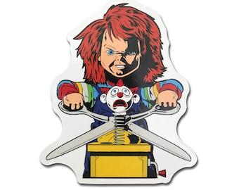 Chucky Child's Play Fridge Magnet