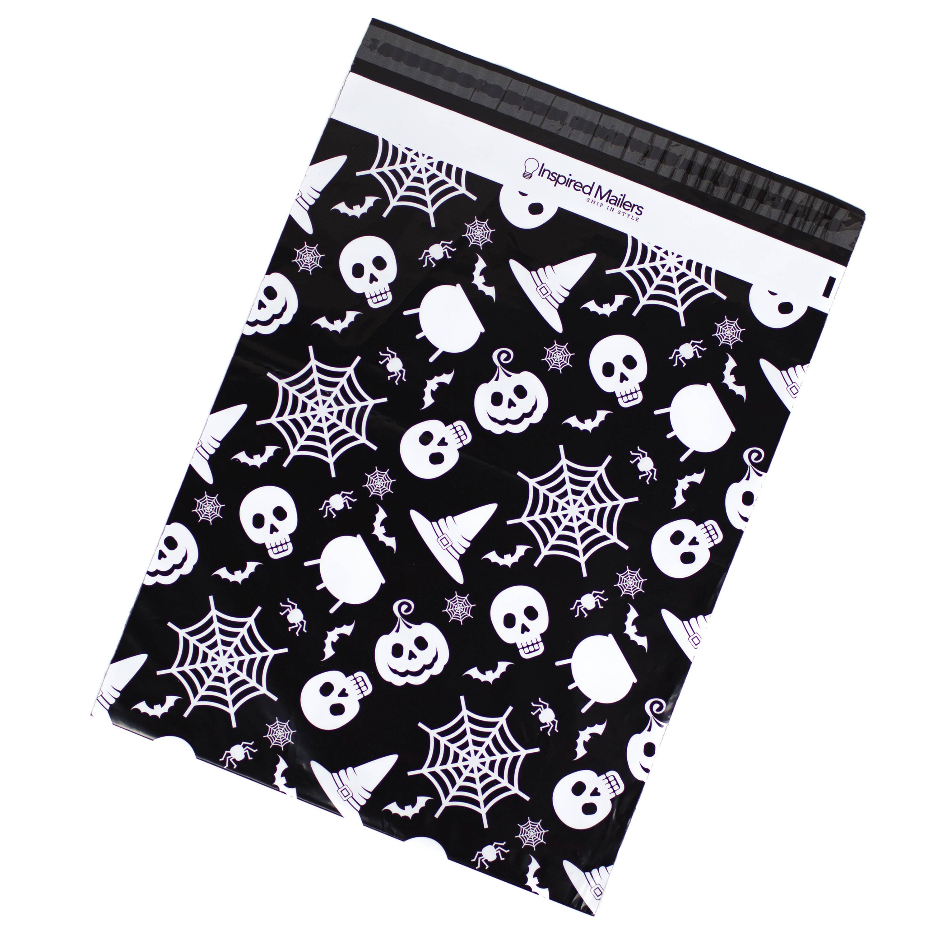 Halloween Theme Poly Mailers 14 5x19 Pack of 50