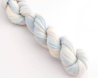 Peace and Quiet - Lace Organic Merino Cobweb Yarn Hand Dyed