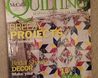 McCall's Quilting Magazine August 2003