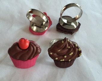 More Cupcake Rings!