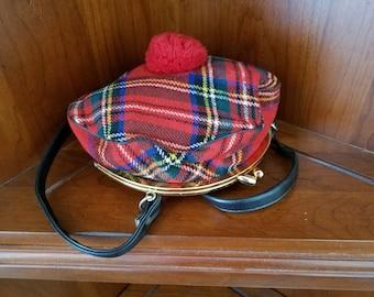 1950's Scottish Hat Purse By Trimingham Bermuda