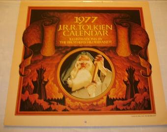 J.R.R. Tolkien Calendar 1977