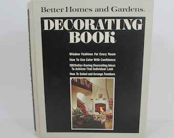 1975 Better Homes and Gardens Decorating Book, Vintage 1970s Decorating Ideas Book, 1970s Home Houses Interior Design