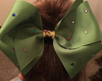 Green Jeweled Bow