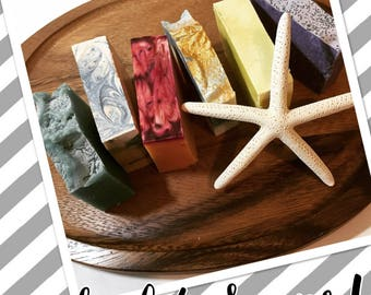 Set of 4 Soaps- Save on Shipping!