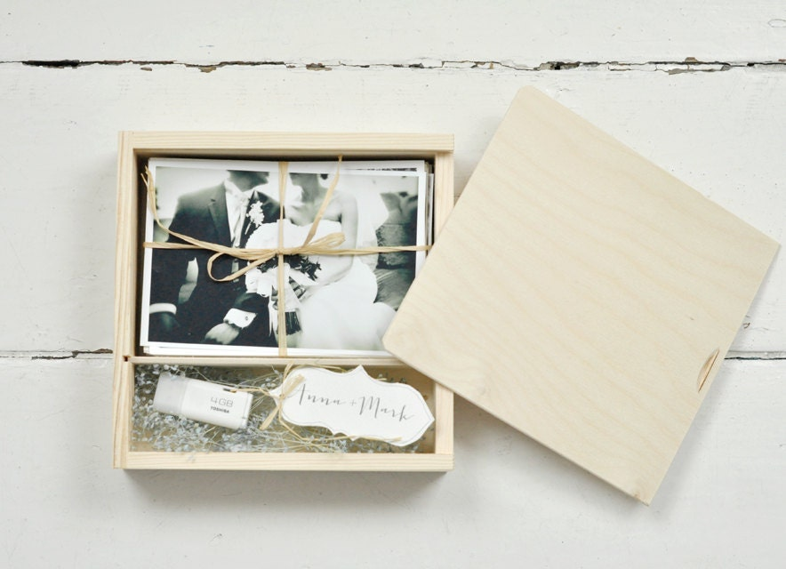 Wedding Photography Printing: PHOTO&USB Box For 4 X6 10x15cm Prints With