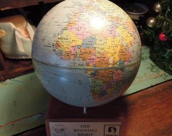 Small desk globe etsy vintage desk top globe small globe scan globe 1972 made in denmark gumiabroncs Images