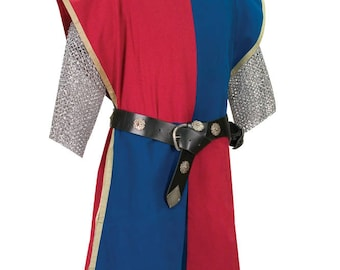 Knightly Tabard Plain: Multi Colored