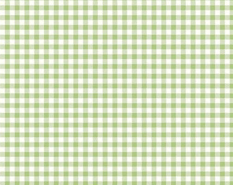 NEW! Bake Sale 2 Fabric - Lori Holt for Riley Blake Designs -Gingham-Green