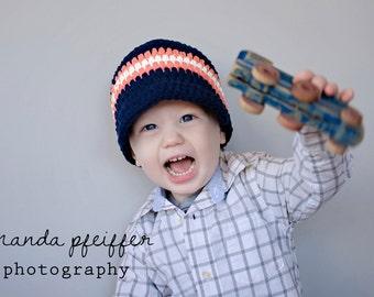 9 Sizes Boys Hat Baby Hat Toddler Hat Men Hat Baby Boy Hat Toddler Boy Hat Navy Blue Tangerine Orange White Winter Hat Boys Beanie Boys Cap