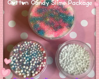 Cotton Candy Slime Package
