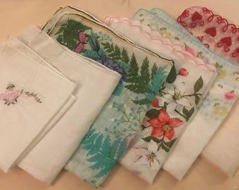 Set of 6 Handkerchiefs