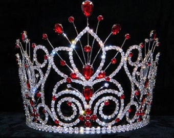 "Style # 16109 - Maus Spray Crown - Siam- 6"""
