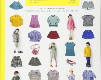 """Japanese Handicraft Book""""Pattern Label Children's Clothing Sewing LESSON BOOK""""[4529050769]"""