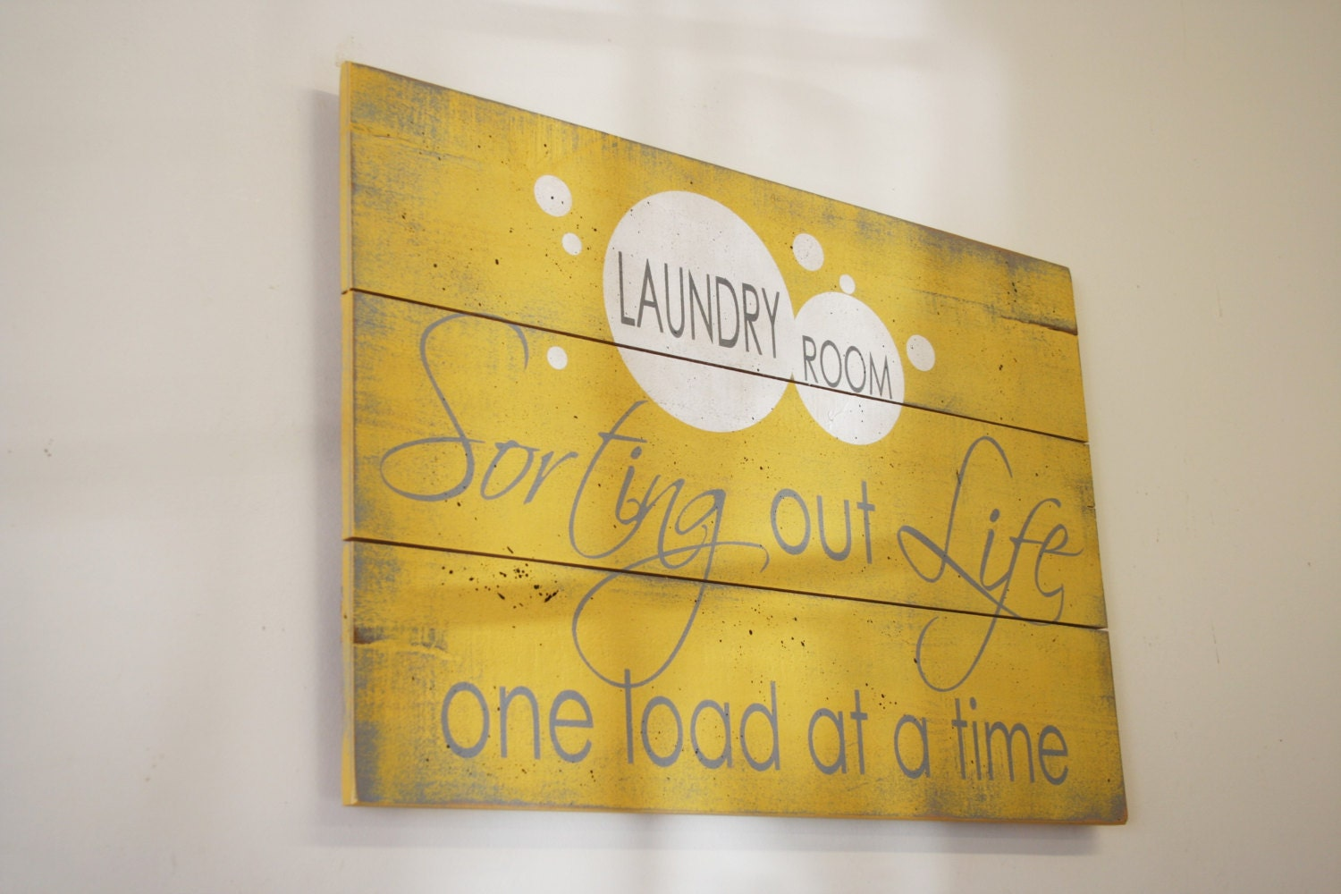 Laundry Sign Wood Pallet Sign Laundry Room Decor Wood Sign