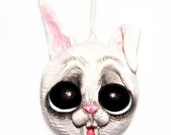 Bunny Rabbit Ornament - Easter Ornament