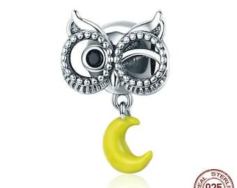 Owl & Moon Carousel Charm
