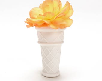 Porcelain Ice Cream Pot