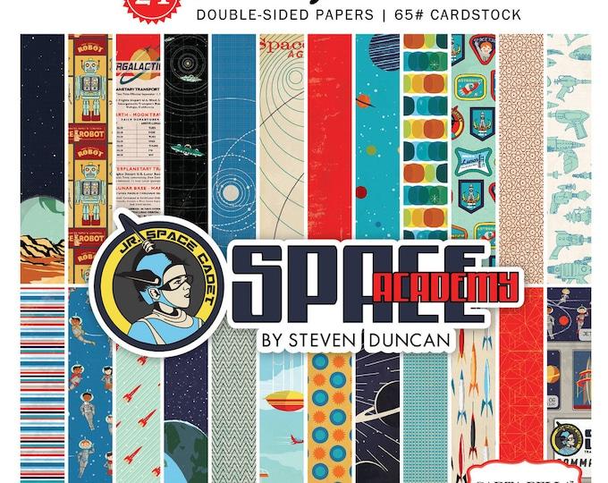 Carta Bella SPACE ACADEMY 6x6 Scrapbook Paper Pad