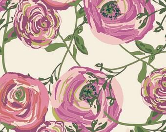 Baby Girls Bedding -ROSE Crib Sheets /Mini Crib Sheet /Changing Pad Cover /Floral Crib Sheet / Baby Sheets / Alma Mini Sheets/Crib Bedding