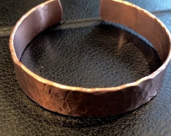 Copper Cuff Bracelet, Bangle Bracelet, Copper Bracelet