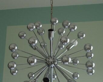 Sputnick chandelier/chandelier/pendant lamp Atomic Age Starbust 1960