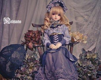 BJDs doll outfit [Dream Blue] SD10girl / SDGr girl and SD16 girl size