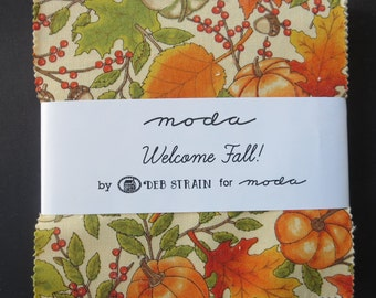 Welcome Fall - Charm Pack - Deb Strain For Moda