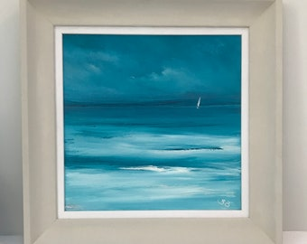 Sailing in a turquoise sea