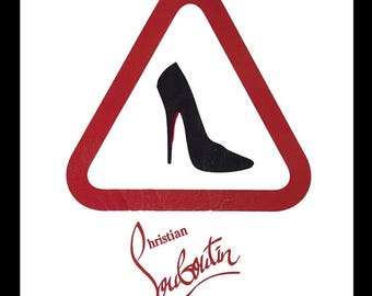Fairchild Paris Christian Louboutin ad