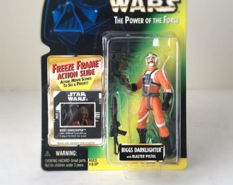 Star Wars Toy - Star Wars Gift for Men - Kenner Star Wars Lover Gift - Biggs Darklighter Figure - Vintage Action Figure Kids Toy