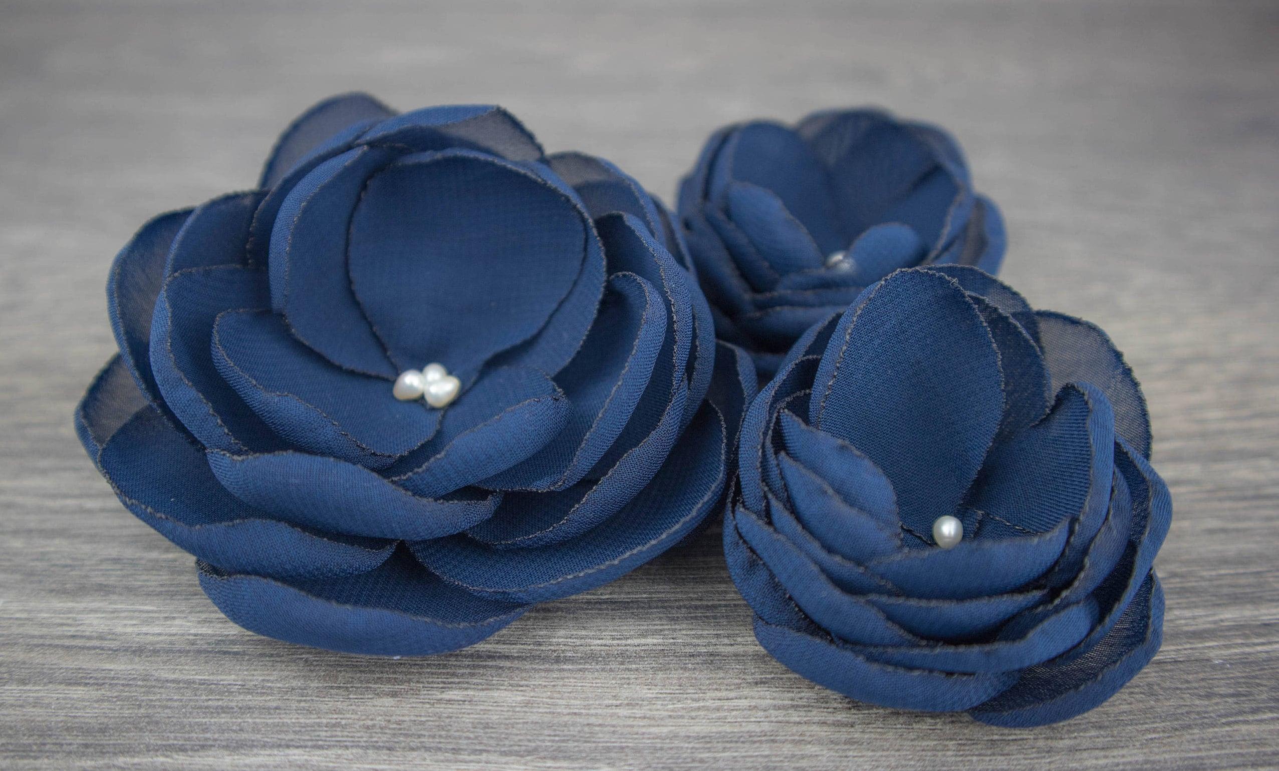 Navy wedding navy blue wedding blue hair flower navy zoom izmirmasajfo Image collections
