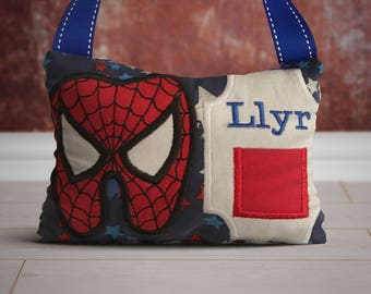 Spiderman Tooth Fairy Pillow, Custom, Personalized