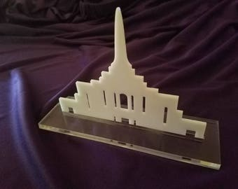 US Temple Desk Decor