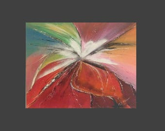 """Modern abstract painting """"Butterfly"""""""