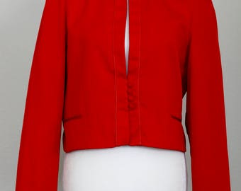 Red Blazer | Size 16 | Buttons