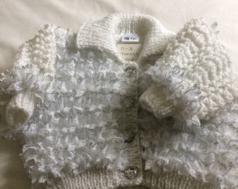 Baby Girls Lace Cardigans