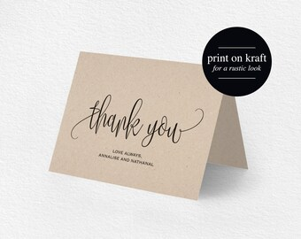 wedding thank you notes templates