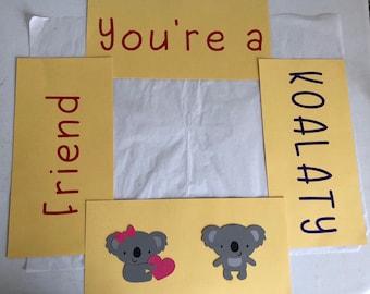 You're A Koalaty Friend Care Package Flaps