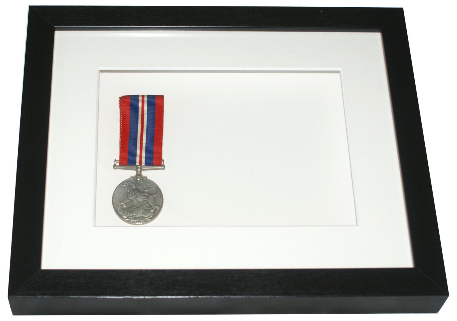 Deep shadow box display frame 10 x 8 for medals decoupage zoom jeuxipadfo Image collections